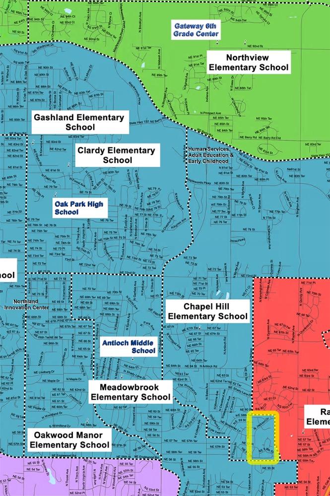 NKC School Boundaries